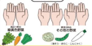 手ばかり法野菜